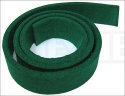 Fängerfilz --Grün-- 4 mm 85x 3 cm