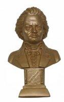 Beethoven - 12 cm Gold bronziert