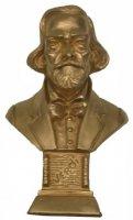 Verdi - 12 cm Gold bronziert