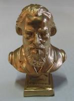 Brahms - 12 cm Gold bronziert